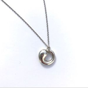 Tiffany co jewelry tiffany co eternal circle pendant necklace eternal circle pendant necklace mozeypictures Choice Image